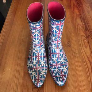 Rain boots Union Jack